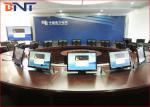 La mesa de reuniones comercial motorizada surge la elevación para 19 - 24 pantallas LCD de la pulgada