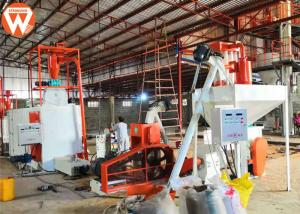 China Aqua Floating Fish Feed Production Line Fish Feed Extruder Screw Plant on sale