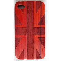 Wood Cell Phone Case ,  Iphone Phone Case Log  /  Mosaic Color