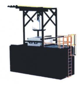 China Flexible Packing Asphalt Melting Machine Black Bitumen Drum Melting Unit on sale