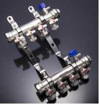 China Forged Flow Control Manifold Cooling Brass Water Customized Finish Treatment on sale