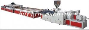 China wood plastic composite profile extrusion machine on sale