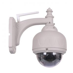 China 1.3 Mega Pixels HD 720P Video PTZ Outdoor IP Cameras With 3x Optical Zoom on sale