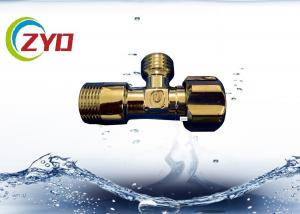 China Chrome Plated Brass Plumbing Valves Hotel Bathroom Toilet Connector Suit on sale