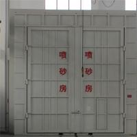 Dust Free Sand Blasting Booth Painting Room , Grit Blasting Booth Equipment