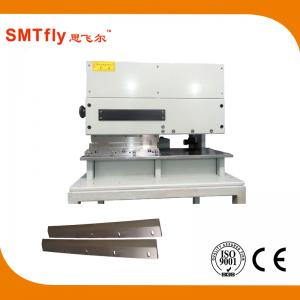 China Pneumatic Pcb Cutting Machine With Two Linear Blades For Any Length Boards on sale