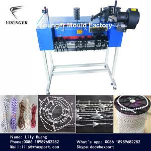 China máquina de fabricación de cadena de la bola plástica de las cortinas de las persianas de rodillo on sale