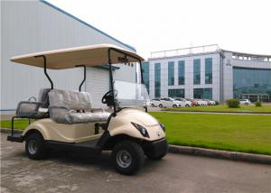 China 2+2 Seater Golf Electric Cart , 4 Passenger Street Legal Golf Carts With DC Motor on sale