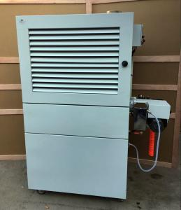 China 100000 Kcal Used Motor Oil Burner 100 Liter Oil Tank With Filter System on sale