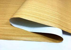 China Wood Grain Peel And Stick Wallpaper Self Strong Adhesion For Renewing Furniture on sale