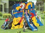 Chinese famous mythology figure structure PE out door playground for kids