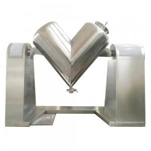 China V Type 100L Wheat Flour Mixing Machine / Wheat Flour Mixer For Food Stuff Powder Dry on sale