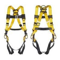 China Outdoor Full Body Climbing Harness , Polyester Fall Protection Safety Harness on sale