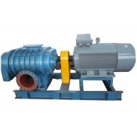 China High pressure Horizontal  Tri-lobe Roots Blower for filter system 0.6bar  58.8kpa 132kw on sale