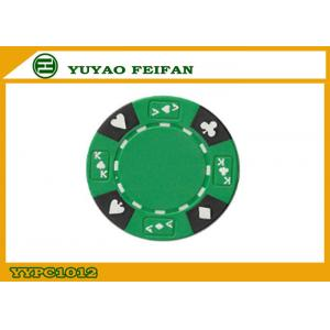 China Le composé professionnel 13,5 grammes a numéroté des jetons de poker avec la coutume imprimés on sale