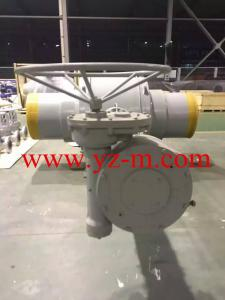 China Bevel gear actuator + spur gear actuator . two stage manual worm gear operators on sale