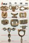 Metal Parts Of A Shoe Bags Slider Adjustable Belt Buckles Decoration