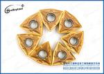 Yellow Coating Tungsten Carbide Inserts For Cutting Limestone Blocks