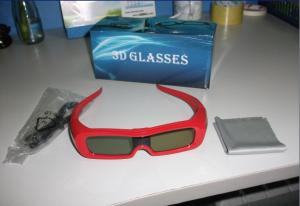 China USB Rechargeable Universal 3D Active Shutter Glasses 120Hz 1.5mA CE FCC on sale