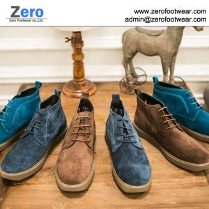 China 2014 hot men leather boots cow leather shoes A452 leisure leather boots on sale