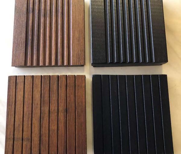 Interlock Natural Bamboo Flooring