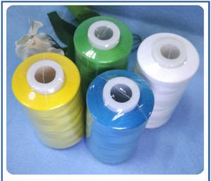 China White spun Polyester Sewing Thread 40S / 2 good color fastness on sale