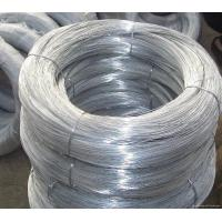 China Hot Dipped Galvanized Wire , Galvanised Iron Wire Chain Link Fence Raw Material on sale