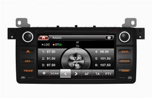 China (Э46) 7инч цифровой экран касания БМВ3 в игроке радио ТВ КД гпс мп3 мп4 двд автомобиля черточки on sale