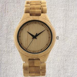 China Natural Fashion Promotion Gift Quartz wooden watch bamboo watches Best selling wooden watches factory wood case on sale