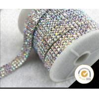 Rhinestone Chain , Rhinestone Crystal Chain trimming,embellishment, Decorative rhinestone sandal shoe chain bling rhines
