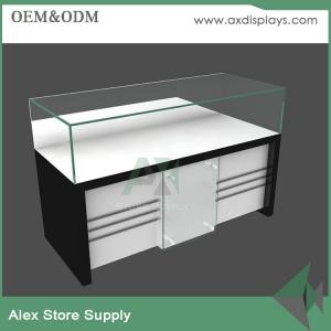 120768fc6 ... Quality Wood/ glass/MDF mobile phone accessories counter display design  showcase display for sale ...