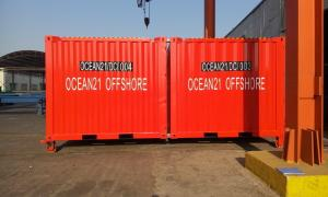 China High Strength Certified Shipping Containers 10ft Easy Operation Height 2591MM on sale