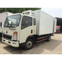 China CCC Light Duty Commercial Trucks Refrigerator Freezer Van Box Truck For Meat on sale