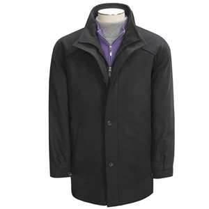 China Customized Corduroy Fabric short men's 100% Cotton wool coats for men on sale