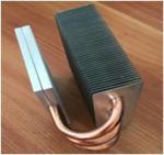 OEM Fin Copper Heat Sink Customized Copper Pipe HeatSink For Passivite Surface Mount Device