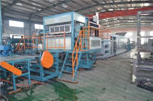 China Corrugated Paper Egg Tray Manufacturing Machine 6 - Layers Dryer Drum Type on sale