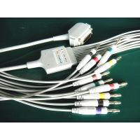 Siemens Hellige One Piece 10 Lead EKG Lead Wires Double Shield TPU Cable