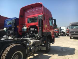 China 371hp HW79 Cabin Sinotruk Howo7 Tractor Prime Mover Truck With 2 Sleepers on sale