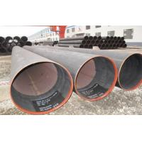 China Hydraulic Fluid Round ERW Welded Tube , SCH X52 Welded Steel Pipe 6.35 ~ 50mm on sale