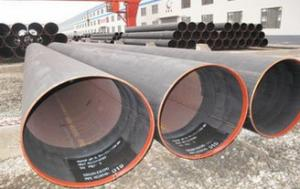 China Hydraulic Fluid Round LSAW Pipes SCHX52 Welded Steel Pipe 6.35 ~ 50mm supplier