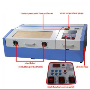China mini laser 40W hobby engraving machine on sale