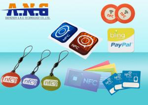 China Customize NFC Sticker tags S50 ISO 14443A tracked to a specific person/account on sale