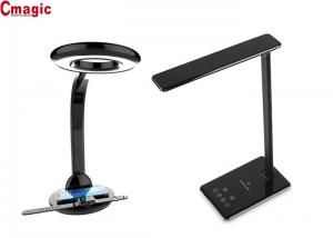 China Foldable Wireless Qi Charging Desk Lamp , Office Home Reading Touch Dimmer Lamps on sale