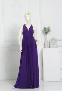 China V Neckline Beaded Close-Fitting Sexy Evening Gowns , Formal  Prom Dresses on sale