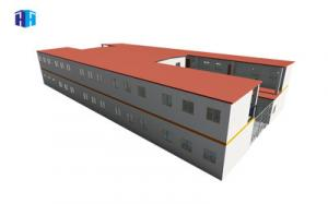 China prefab modular container building mobile school classroom dormitory house on sale