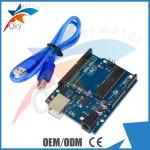 Placa da ONU R3 para o cabo 6-20V 40mA ATmega328 de USB do B de Arduino Funduino