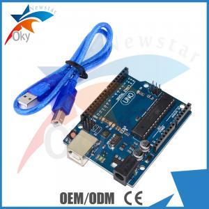 China UNO R3  Board for Arduino Funduino B type  USB Cable 6-20V 40mA ATmega328 on sale
