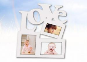 China Adult Wedding Window Wooden Photo Frames Personalized 3 For Loving Gifts on sale