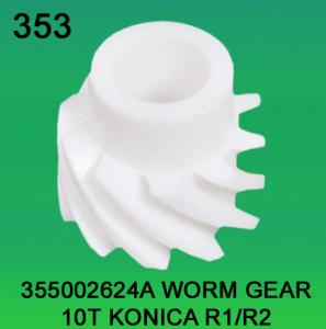 China 355002624A / 3550 02624A WORM GEAR TEETH-10 FOR KONICA R1,R2 minilab on sale
