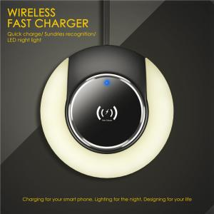 China Colorful  Portable Wireless Charger Delicate And Slim Wireless Cell Phone Charger on sale